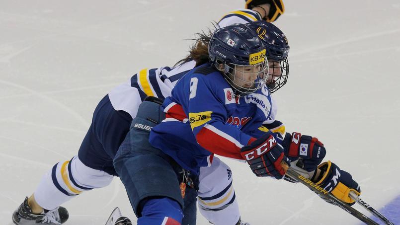 Corée du Sud contre le Japon en match de préparation olympique.