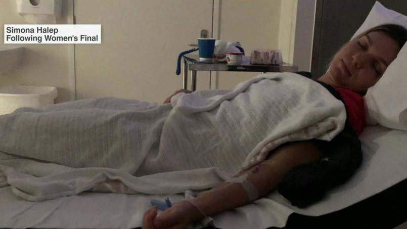 Open d'Australie : après sa défaite en finale, Halep a été hospitalisée