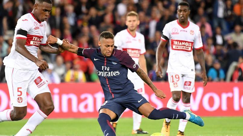 PSG-Toulouse en août dernier.