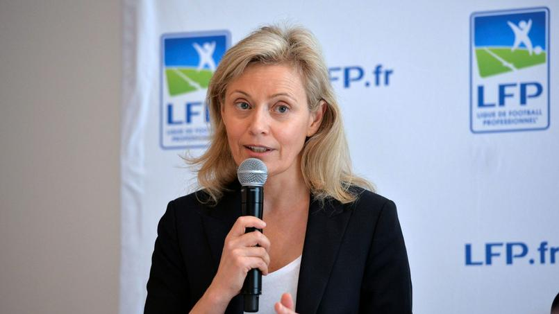 Nathalie Boy De la Tour, présidente de la LFP, en juillet 2017.