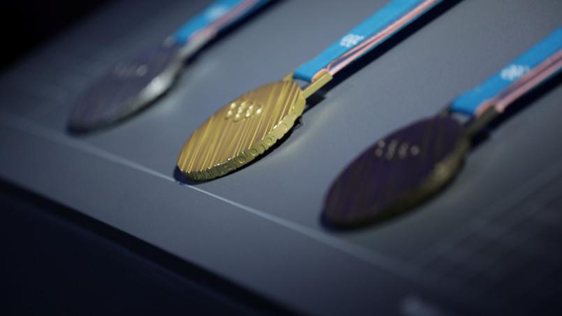 Les médailles aux Jeux d'hiver de Pyeongchang.