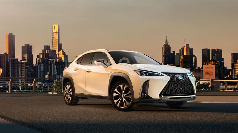 Lexus UX, version premium du C-HR
