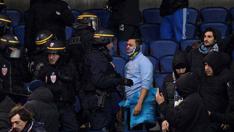 Supporters marseillais.