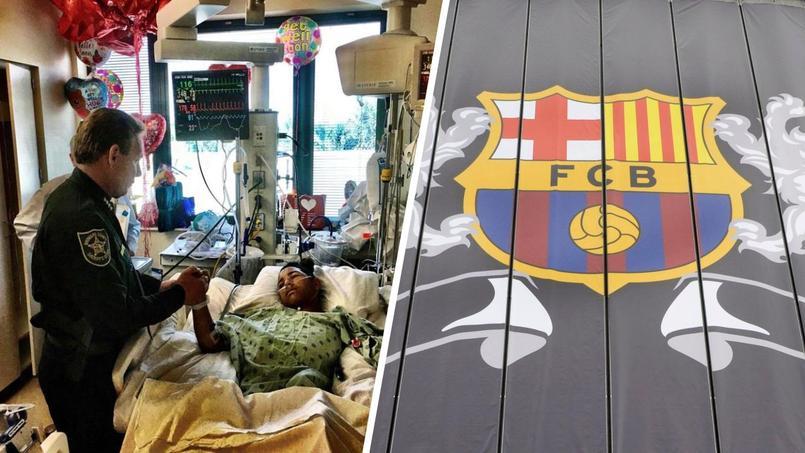 Le Barça propose d'aider médicalement l'adolescent héros de la tuerie de Parkland