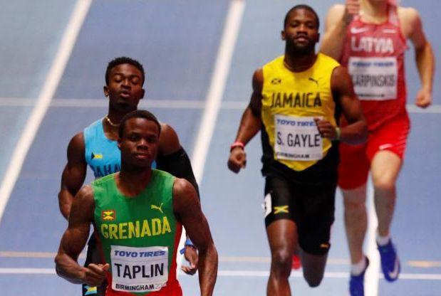 Les coureurs du 400m à Birmingham.