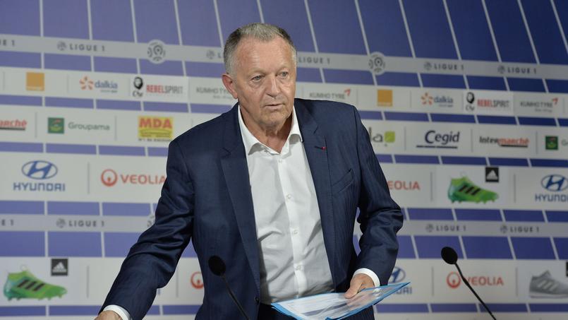 Jean-Michel Aulas en juin 2017.