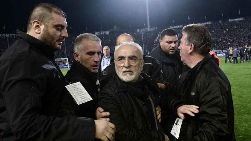 Ivan Savvidis, président du PAOK Salonique.