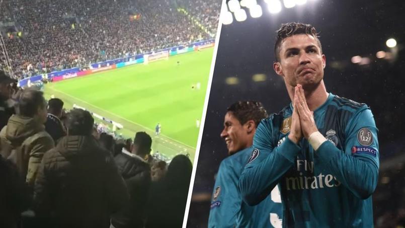 Après son but, Ronaldo a eu le droit à une standing ovation du public italien