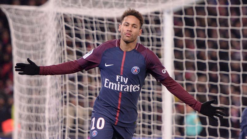 Neymar lors de PSG-OM.