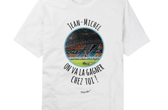 T-shirt hilarant sur Jean-Michel Aulas.
