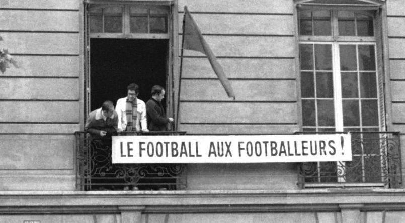 Mai 68 : le putsch des footballeurs au siège de la Fédération française de football