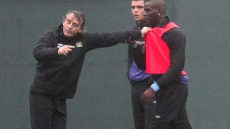 Quand Mancini et Balotelli en venaient aux mains à l'entraînement