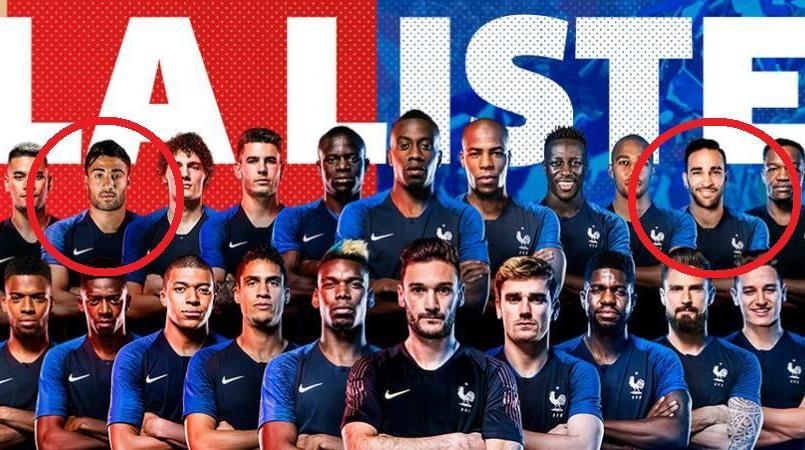 Mondial 2018 : Des ratés sur le photomontage des 23 Bleus