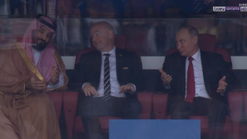 Mondial 2018 : la réaction originale de Poutine après l'ouverture du score de la Russie