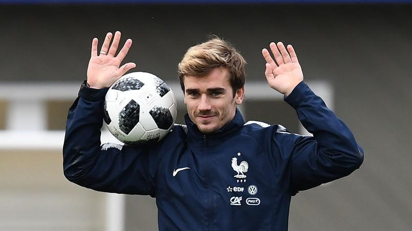 France Australie. Premier match de Coupe du monde de l'équipe de France.