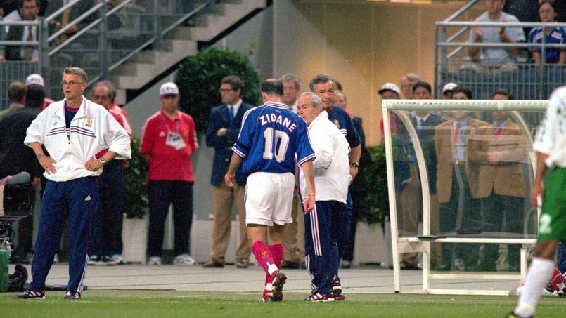 19 juin 1998 : Zidane suspendu deux matches, coup de massue sur les Bleus