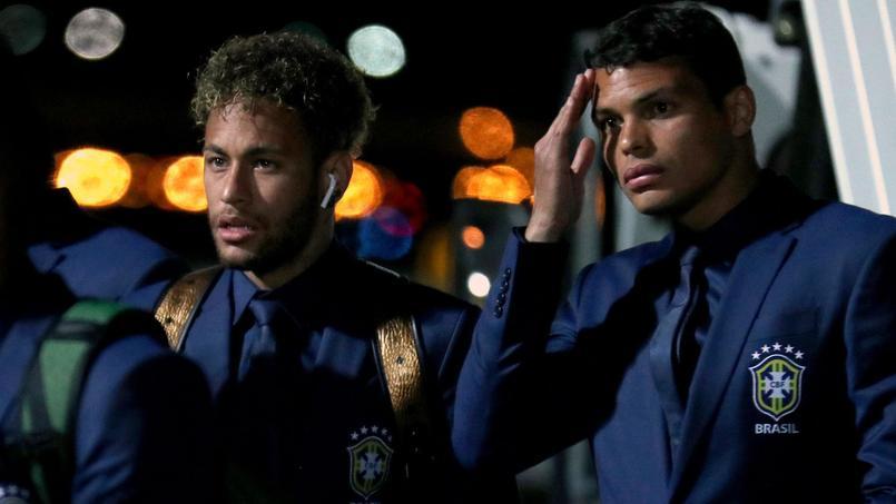 Coupe du monde 2018 : Thiago Silva insulté par Neymar