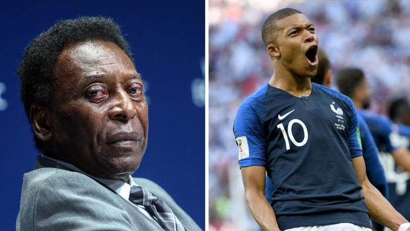 Coupe du monde 2018 : Pelé adoube Kylian Mbappé