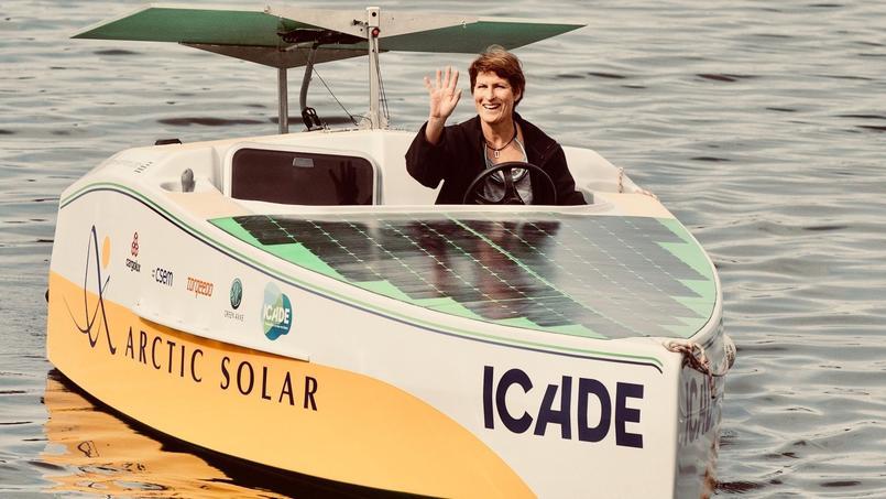 Une navigatrice française lance la première expédition solaire en Arctique
