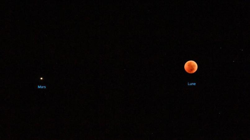 Mars Na Jamais été Aussi Près De La Terre Depuis 15 Ans