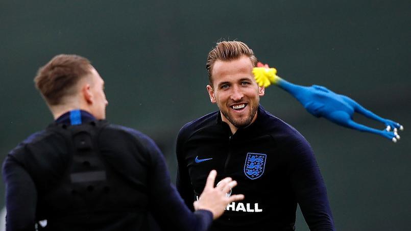 Coupe du monde 2018 : l'Angleterre se prépare en jouant avec des coqs bleus et rouges