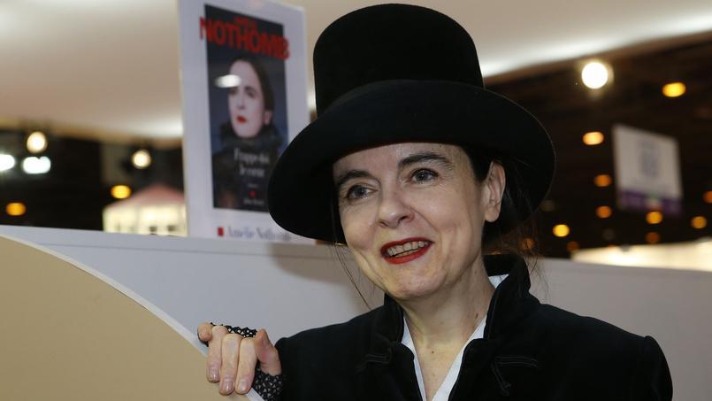 Amélie Nothomb : «Je supporte les Diables Rouges avec ardeur»