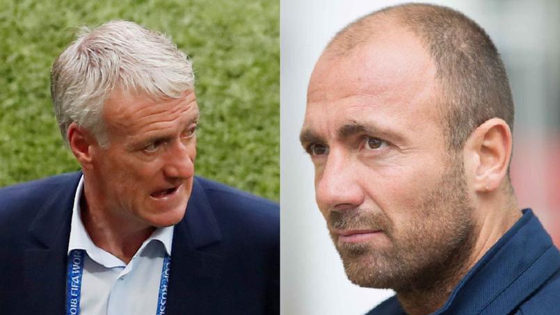 Didier Deschamps et Christophe Dugarry sont aujourd'hui brouillés