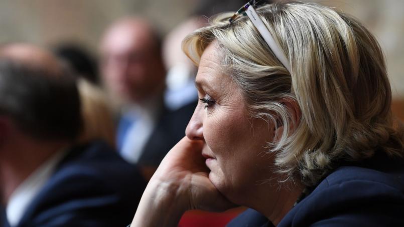 Marine Le Pen face au spectre du dépôt de bilan