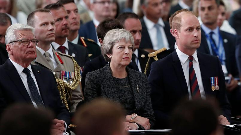 Theresa May et le Prince William à Amiens pour le centenaire de la Grande Guerre