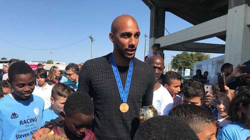 Steven Nzonzi, un champion du monde à Colombes