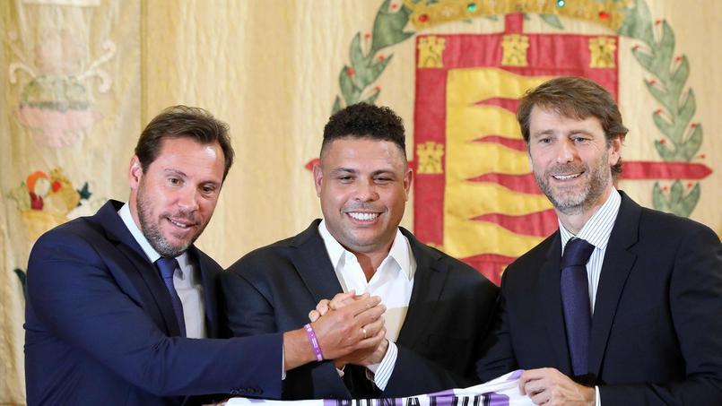 Le nouveau président du Real Valladolid est... Ronaldo