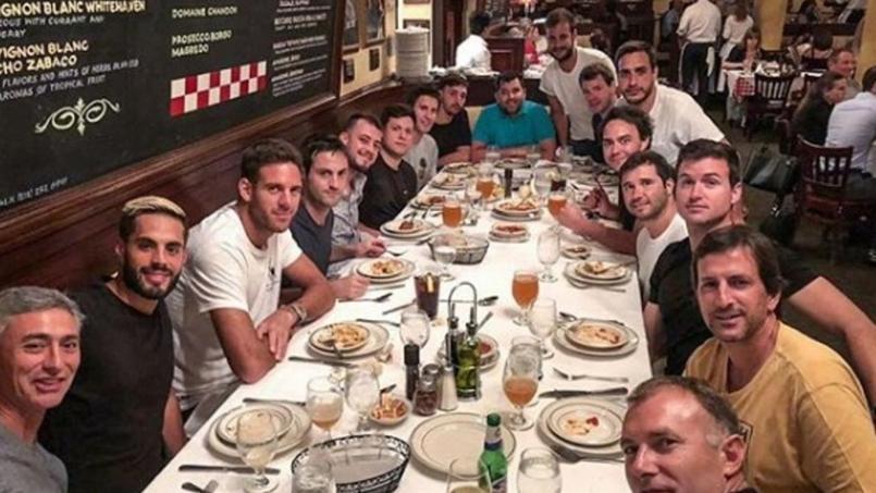 US Open : la bande de copains de Del Potro fait fureur dans les tribunes