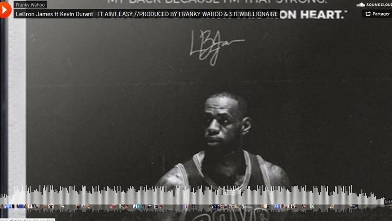Un morceau de rap avec LeBron James et Kevin Durant dévoilé