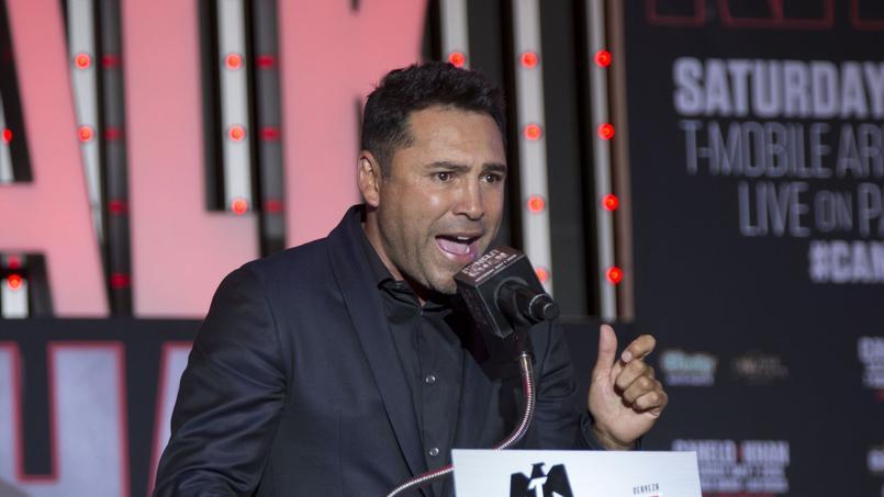 Oscar De La Hoya à Los Angeles en 2016