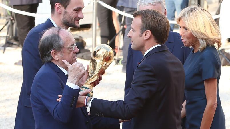 Le président de la FFF a convaincu Emmanuel Macron de sauver la maternité de Guingamp