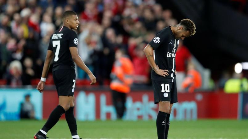 Kylian Mbappé et Neymar avaient de quoi être déçus à l'issue de la rencontre mardi.