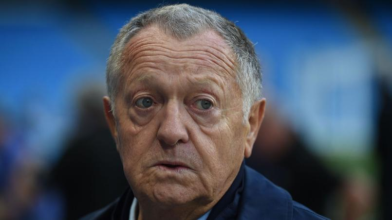 Le tract anti-OM diffusé avant le match entre Lyon et Marseille n'a pas du tout plu au président de l'OL, Jean-Michel Aulas.