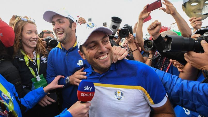 Francesco Molinari (35 ans) a remporté la Ryder Cup pour la troisième fois de sa carrière, après 2010 et 2012.