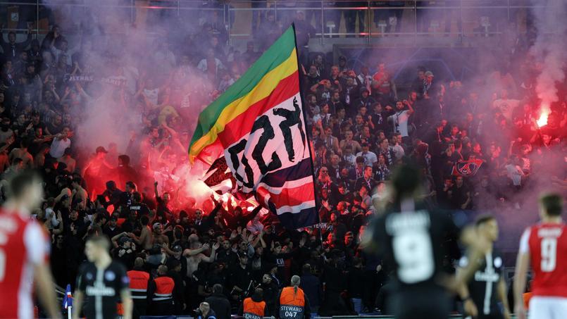 La ferveur des supporters parisiens n'était pas difficile à remarquer, mercredi, malgré la fermeture du virage Auteuil.