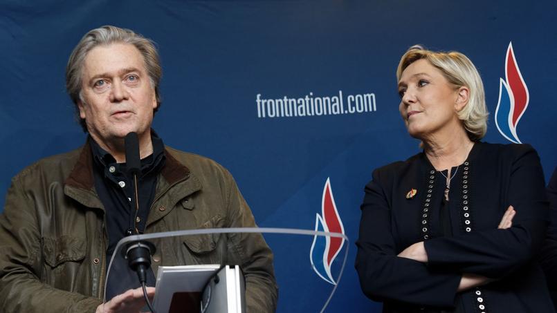 Pourquoi Marine Le Pen tient Steve Bannon à distance