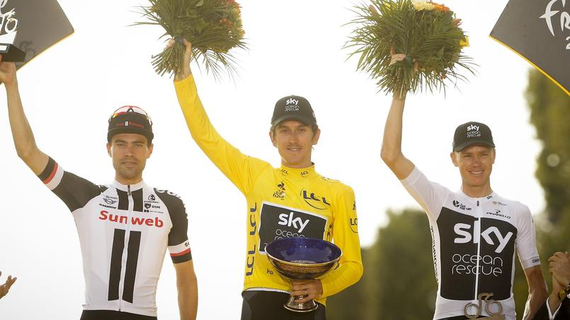 Le trophée de Geraint Thomas volé — Tour de France