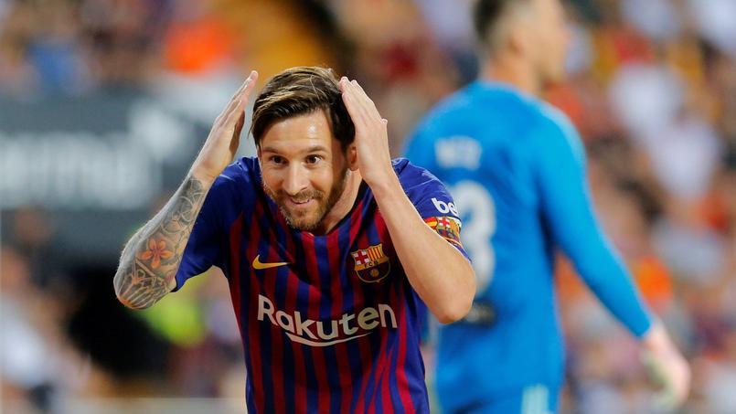Lionel Messi s'est encore illustré dimanche dernier, inscrivant l'unique but du Barça sur la pelouse de Valence en championnat (1-1).