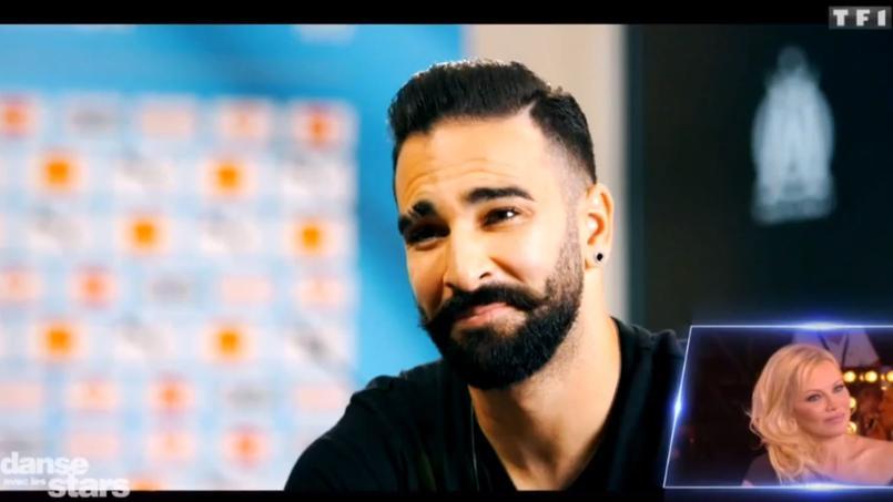 Adil Rami s'est adressé à Pamela Anderson, vendredi soir sur TF1 dans Danse avec les stars.