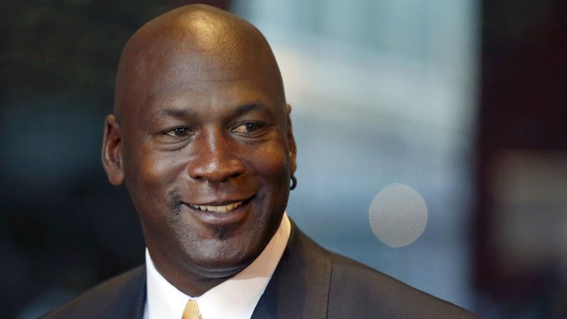 Michael Jordan en août 2015.