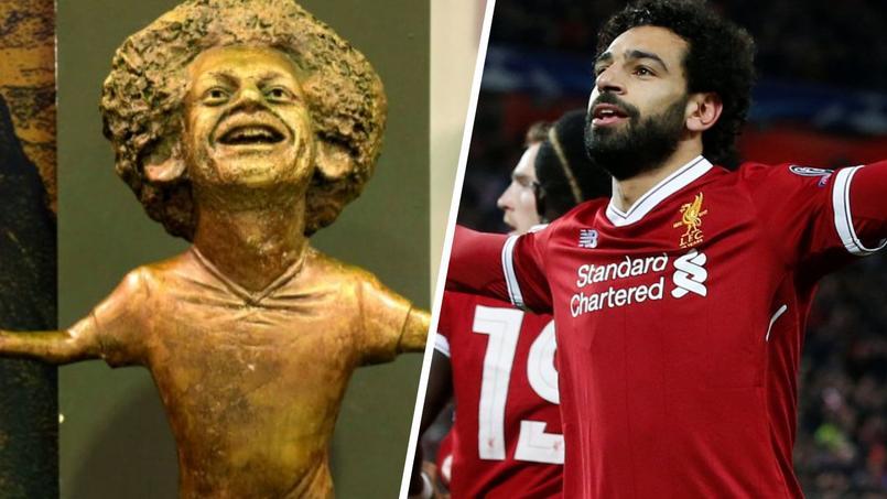 Une statue difforme de Mohamed Salah fait scandale en Egypte