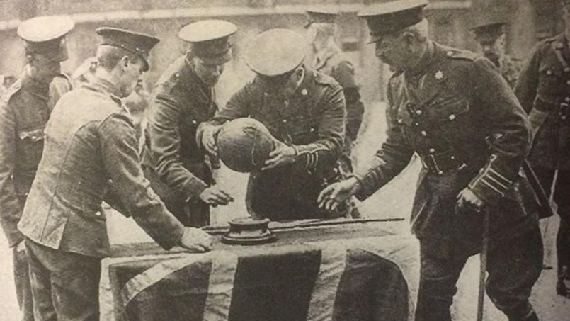 Armistice de 1918 : le jour où les Anglais ont chargé en dribblant avec un ballon de football