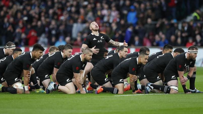 Le haka des All Blacks couvert par «Swing low, sweet chariot» à Twickenham