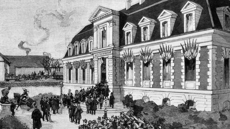L'Institut Pasteur est inauguré le 14 novembre 1888