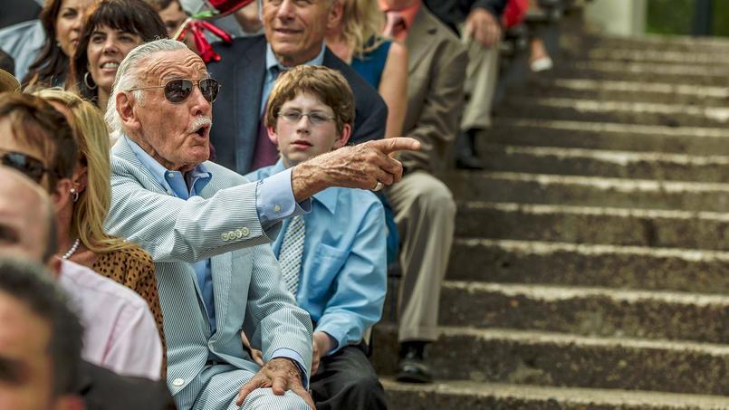 Stan Lee, le roi des caméos chez les super-héros