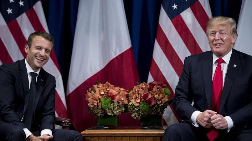 Armée européenne, popularité de Macron, vin: Trump s'en prend à la France